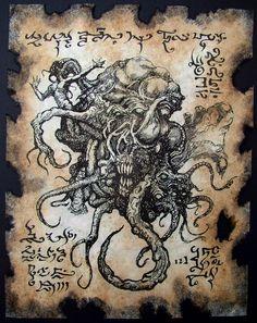 Shoggoth by MrZarono.deviantart.com on @deviantART