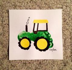 Tractor card einladung Geburtstag