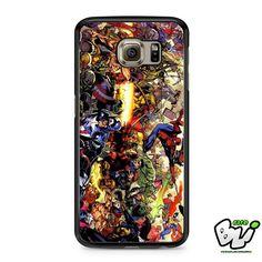 Marvel Comic Superhero Samsung Galaxy S6 Case