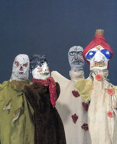 by Old Chum, via Flickr. More puppets by Paul Klee. Love the turban!