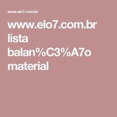 www.elo7.com.br lista balan%C3%A7o material