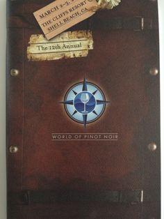 2012 WOPN program designed by Erin Ambrose.