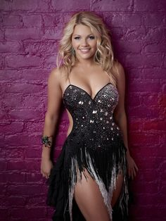 whitney carson | Witney Carson (18), is a Latin Ballroom dancer from American Fork, UT ...
