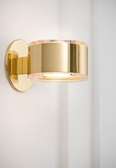 Bathroom Sconces - One Light Brass Bathroom Sconce Bathroom Sconces - One Light Brass Bathroom Sconce Modern Lighting Design, Interior Lighting, Home Lighting, Light In, Lamp Light, Gold Light, Brass Bathroom Sconce, Gold Bathroom, Brass Sconce