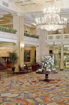 The Boston Park Plaza Hotel & Towers—Lobby by chiragaghara, via Flickr