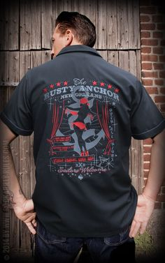 Worker Shirt - The Rusty Anchor by Rumble59 | Rockabilly - 50s Style