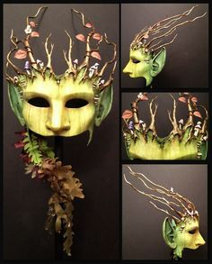 GreenWoman by ~inkvine on deviantART  @Linda Bruinenberg Bruinenberg Bruinenberg Bruinenberg MacIver perhaps some inspiration for your next piece of art.  I love that this piece has ears.