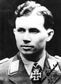 "✠ Hans ""Specker"" Grünberg (8 July 1917 – 16 January 1998)"