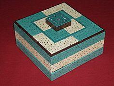 DIY boite à bijoux trois plateaux