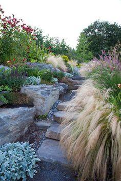 Backyard walkway......