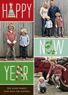 Festive Season - Happy New Year Card