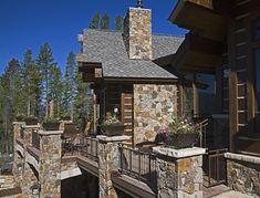 Custom Home Builder In Colorado Showcases Rustic Mountain