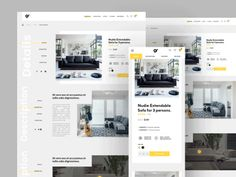 Responsive product page by Virgil Pana - Dribbble