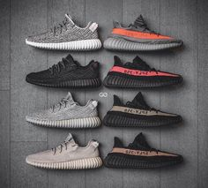 Entire Yeezy Boost 350 collection The Best of footwear in 2017.