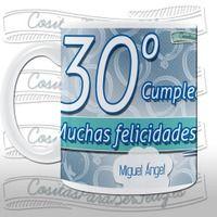 Taza 30º cumpleaños personalizable. - Rakuten.es  Taza 30º cumpleaños personalizable.: TAZACUMPLE0030 de Cositas para ser feliz   Compra en línea en Rakuten España
