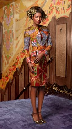 Ankara styles 428897564496555669 - Fabulous Ankara Styles Of The Exquisite Vlisco Will Get You Thrilled – Wedding Digest Naija Source by rebeccamorson African Print Dresses, African Print Fashion, Africa Fashion, Ethnic Fashion, African Dress, African Fabric, Fashion Prints, Fashion Design, African Prints