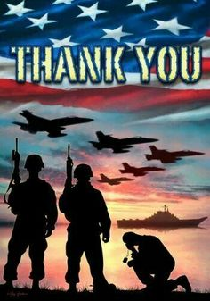 THANK YOU FOR YOUR SACRIFICES...THANK YOU FOR MY FREEDOM!