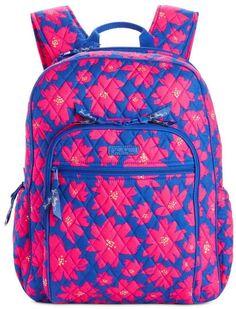 594a89cbf851 Vera Bradley Art-Poppies Campus Backpack Jansport Backpack