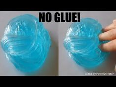Colgate 1 Ingredient Slime No Glue, No Borax ! 1 Ingredient Slime with Toothpaste Colgate Water Slime, Borax Slime, Slime No Glue, Slime Craft, Slime Asmr, Make Slime For Kids, How To Make Slime, Youtube Design, Flour Slime