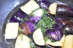【フライパンでお手軽】なすの揚げ浸し by はっとりみどり | レシピサイト「Nadia | ナディア」プロの料理を無料で検索
