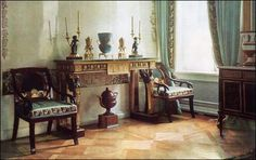 Bedroom - Pavlovsk Palace & Park - Country Residence of the Russian Imperial Family