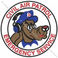 Civil Air Patrol Decal: Emergency Service - im earning the right to wear this again