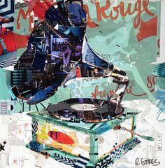 Collage Art by Derek Gores