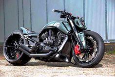 Motocicleta impresionante.