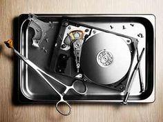 Recuperação de dados do disco rígido após um desastre  - http://www.comofazer.org/tecnologia/recuperacao-de-dados-disco-rigido-apos-um-desastre/