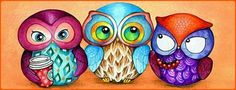 Autumn Owl Trio (160 pieces)