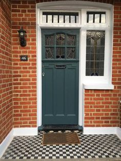 Amazing garage doors colors - read up on our site for much more designs! Best Front Door Colors, Best Front Doors, Beautiful Front Doors, Front Door Paint Colors, Painted Front Doors, Front Door Design, Paint Colours, Front Door Steps, Front Door Porch