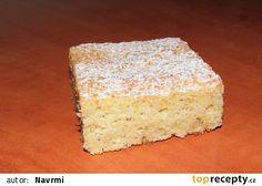 Hrníčková cuketová buchta recept - TopRecepty.cz Vanilla Cake, Food, Meal, Eten, Meals