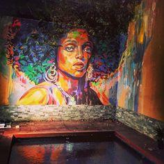 "109 Likes, 8 Comments - حيطان (@heytan.art) on Instagram: ""Another happy client! #Egypt #Art #Murals #Decor #Painting #ContemporaryArt"""