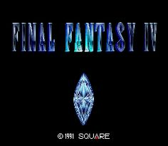 Final Fantasy IV ROM Download for Super Nintendo / SNES - CoolROM.com