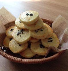 優しい甘さが魅力♪秋に食べたい「さつまいもクッキー」 | くらしのアンテナ | レシピブログ Baked Goods, Sweet Recipes, Bakery, Muffin, Sweets, Cookies, Vegetables, Breakfast, Desserts