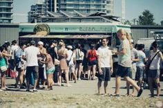 Sunday Funday: The Vancouver Food Truck Fest Kicks off June Food Truck Vancouver, Vancouver Restaurants, Food Truck Festival, Olympic Village, Sunday Funday, Kid Friendly Meals, Summer Fun, A Food, Food Trucks