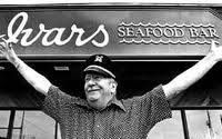 """Happy Birthday Ivar Haglund! You made Seattle proud and your legacy lives on! Go on and visit an Ivar's Restaurant today. Tell the person behind the counter """"Happy Birthday Ivar"""" and you'll get a second meal for $1.06 in honor of what would have been Ivar's 106th birthday."""