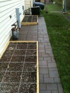 square foot gardening blog #Squarefootgardening