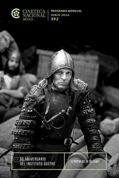 June 2016 at the Cineteca Nacional.  Klaus Kinski in Werner Herzog's Aguirre, the Wrath of God (1972).