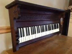 shelf made from piano keyboard - Bing images