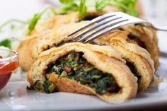 Gevulde spinazieomelet http://www.gezondheidsnet.nl/wat-eten-we-vandaag/gevulde-spinazieomelet #recept #gezondeten #watetenwevandaag