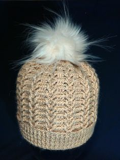 Шапка женская, крючком. Часть 1. a cap knitted crochet. Part 1. Baby Knitting, Crochet Baby, Knit Crochet, Baby Patterns, Crochet Patterns, Stitch 2, Lana, Knitted Hats, Winter Hats