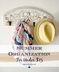 mycreativedays: Summer Organization For Under $15