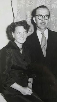 Great nan Ethel Wicks nee Johnson with great grandad James Wicks in 1943