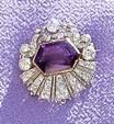 From Her Majesty's Jewel Vault: The Kent Amethyst Demi-Parure