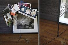 Create your own wire photo tree - Tara Dennis