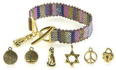 Peyote Charms Bracelet Kit