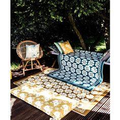 Housse de coussin imprimée  -★- Design by Royal Roulotte ;) / motifs fleurs, boheme, Gypsy...