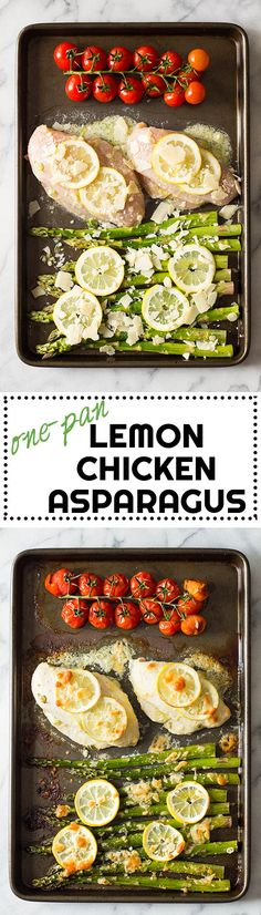 Everybody needs a favorite easy chicken and asparagus recipe, right? How about this 15-minute prep Lemon Chicken Asparagus? Try it! You'll love it!! via @greenhealthycoo