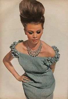 FOR THE LOVE OF JEWELRY — Harry Winston Diamonds in Vogue July 1963